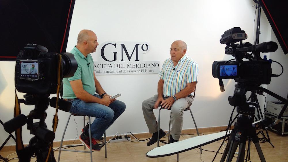 Juan Carmelo Padrón repasa su dilatada trayectoria política